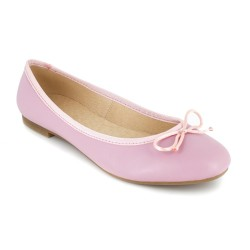 Ballerina J.Bradford Pink Leather JB-VALERIA