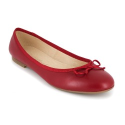 Ballerina J.Bradford Red Leather JB-VALERIA
