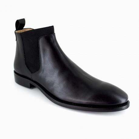 Low Boots J.Bradford Black Leather JB-TRADE
