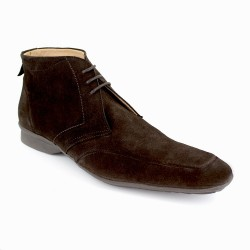Low Boots J.Bradford Brown Leather JB-COMPASS