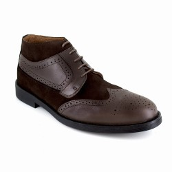 Low Boots J.Bradford Brown Leather JB-BUVEZ