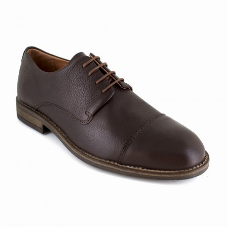J.bradford Derby  Cuir  JB-CAD Marron - Chaussures Derbies Homme