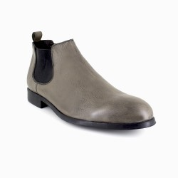 Low Boots J.Bradford Taupe Leather JB-Bristol