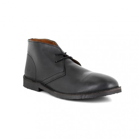 Low Boots J.Bradford Black Leather JB-OSVALDO
