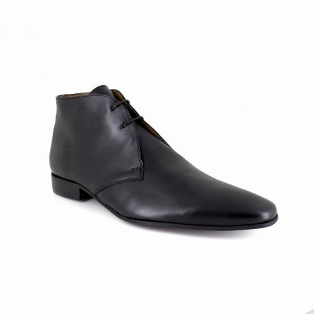J.bradford Bottine  Cuir  JB-DOCATTI Marron - Livraison Gratuite avec - Chaussures Derbies Homme