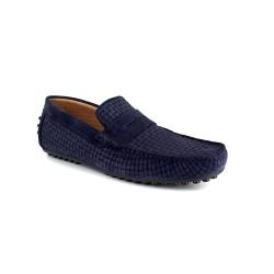 Loafer J.BRADFORD Navy Blue Leather JB-SINAGOT