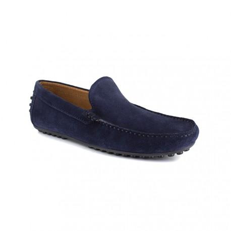 Loafer J.BRADFORD Navy BLue Leather JB-NAVY