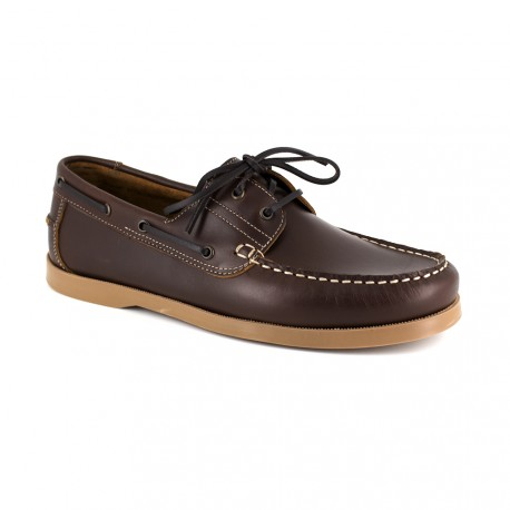 Boat Loafer J.BRADFORD Brown Leather JB-SAIL