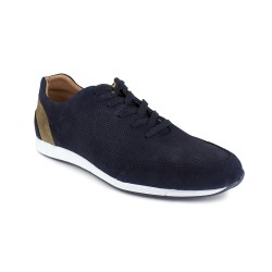 Sneaker J.Bradford Navy Blue Leather JB-GAYO