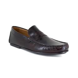 Loafer J.Bradford Burgendy leather JB-SERJIO