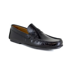 Loafer J.Bradford Black Leather JB-SERJIO