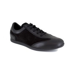 Sneaker J.Bradford Black Leather JB-TAVAO