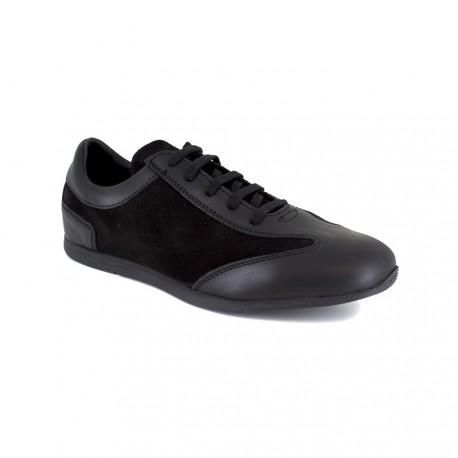 Sneaker J.Bradford Black Leather JB-TAVAO
