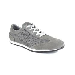 Sneaker J.Bradford Grey Leather JB-TEAHUPO