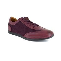 Sneaker J.Bradford Burgendy Leather JB-TAVAO