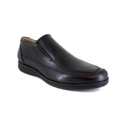 Loafer J.Bradford Black Leather JB-TURIA
