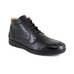 Low Boots J.Bradford Black Leather JB-SIL