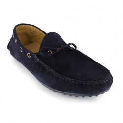 Loafer J.Bradford Navy Blue Leather JB-BELMAR