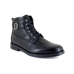 Low Boots J.Bradford Black Leather JB-VARS