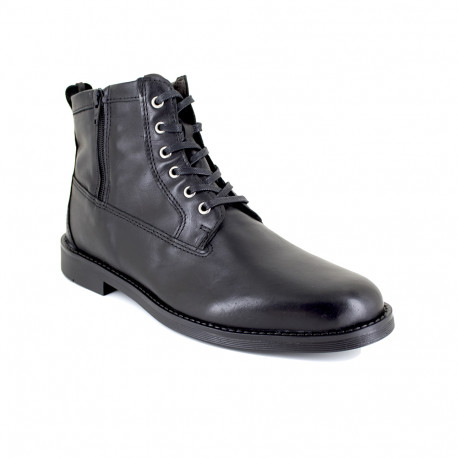 Low Boots J.Bradford Black Leather JB-ARCS
