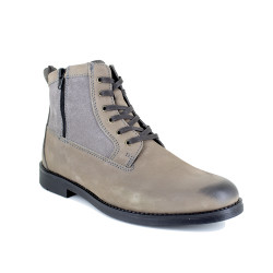 Low Boots J.Bradford Grey Leather JB-ARCS