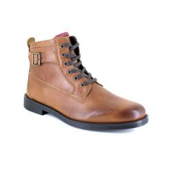 Low Boots J.Bradford Cognac Leather JB-VARS