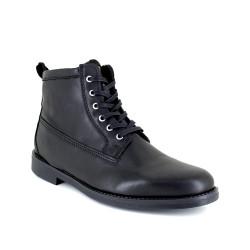 Low Boots J.Bradford Black Leather JB-TIGNES