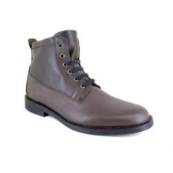 Low Boots J.Bradford Brown Leather JB-STRAWBER
