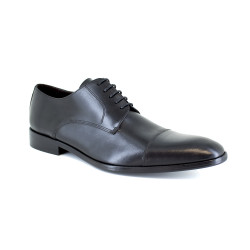Derby J.Bradford Black Leather JBCITYNO