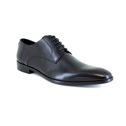 Derby J.Bradford Black Leather JBTOWNNO