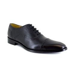 Richelieu J.Bradford Black Leather JB-LEONIS