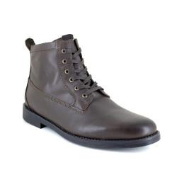 Low Boots J.Bradford Brown Leather JB-TIGNES