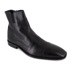 Low Boots J.Bradford Black Leather JB-BUHO