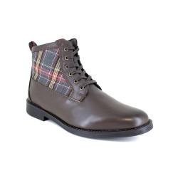 Low boot J.Bradford Brown Leather JB-SCOTT