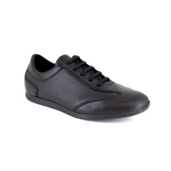 Sneaker J.Bradford Black Leather JB-CORNELY