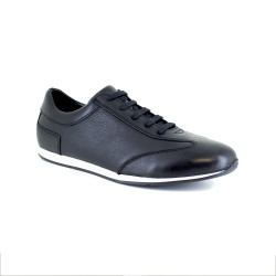 Sneaker J.Bradford Black Leather JB-KERLANN