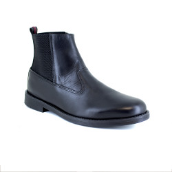 Low Boot J.Bradford Black Leather JB-TORO