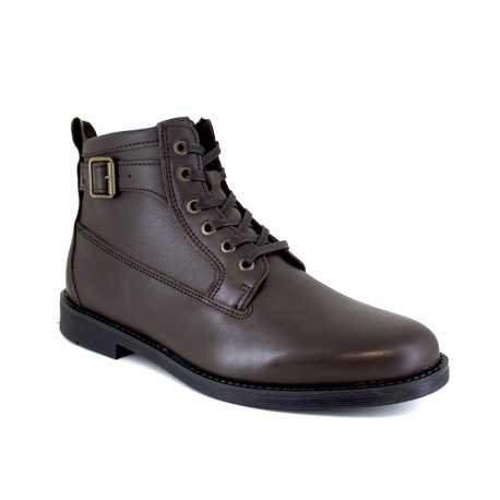 Low Boots J.Bradford Brown Leather JB-BARRY22
