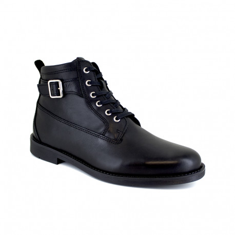 Low Boots J.Bradford Black Leather JB-BARRY21