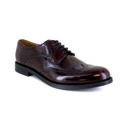 Derby J.Bradford Burguendy leather JB-ZINC