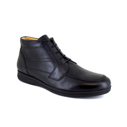 Low Boots J.Bradford Black Leather JB-BOLTON121
