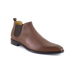 Low Boots J.Bradford Camel Leather JB-DANET
