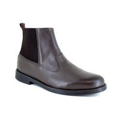 Low Boot J.Bradford Brown Leather JB-TORO