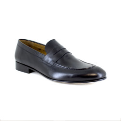 Loafer J.Bradford Black Leather JB-NIQUEL