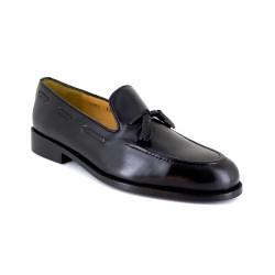 Loafer J.Bradford Black Leather JB-MACKAY