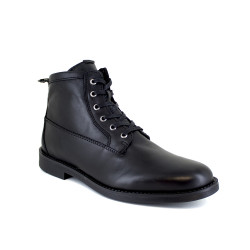 Low Boots J.Bradford Black Leather JB-BRUCE21