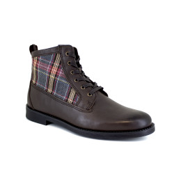 Low boot J.Bradford Brown Leather JB-BERNI22