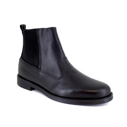 Low Boot J.Bradford Black Leather JB-BILL21