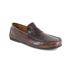 Loafer J.Bradford Cognac Leather JB-SERJIO