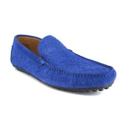 Loafer J.Bradford Blue Leather JB-VEDETTE